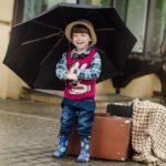 炎天下の子ども達を守る?日傘と雨傘は役割が違う! ~晴雨兼用と雨晴兼用~